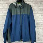 Frogg Toggs Tuck Away Hood Dri Pore Waterproof Rain Jacket XL/XXL Lightweight