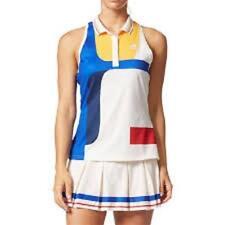Adidas Pharrell Williams BP5222 NY Women's Tennis Colorblock Tank Top Medium New