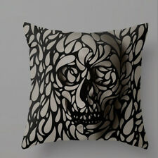 3D Illusion Effect Skull Cushion Cover Living Room Bedroom Gift Modern Trend