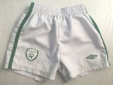GENUINE REPUBLIC OF IRELAND FOOTBALL HOME SHORTS YOUTH 4-5 YEARS OLD IRELAND