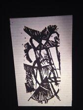 """Raoul Hausmann """"Untitled Woodcut"""" Austrian Dadaism Modern Art Collage 35mm Slide"""