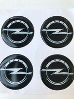 4x 60 mm Opel Autocollant Emblème pour jantes bouchons de roue Logo Decal