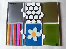 IKEA UNIVERSAL 24 GREETING CARDS WITH ENVELOPES 3D DESIGNS 4 of each 6 DESIGN