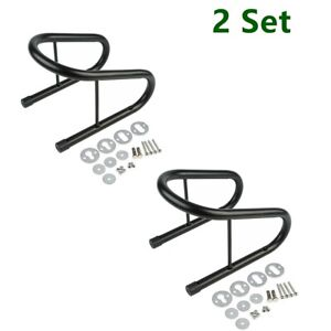 """2PCS 6.5"""" Wide Tire Wheel Removable Wheel Chock Quick Release Mount Hardware Kit"""