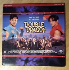 DOUBLE DRAGON A.Milano R.Patrick M.Dacascos MCA LaserDisc mmoetwil@hotmail.com
