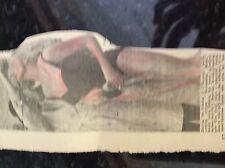 m3a ephemera 1958 picture model anita ekberg screaming mimi