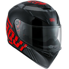 AGV K3 SV MYTH Full-Face Motorcycle Helmet (Black/Red) MS (Medium-Small)