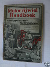 MOTORRIJWIEL HANDBOEK AFSTELGEGEVENS MODELS 1949 ALL SPECIFICATIONS MOTORCYCLES