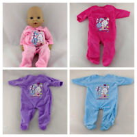 MY FIRST BABY ANNABELL / BABY ANNABELL BROTHER CLOTHES SLEEPSUITS ROMPERS
