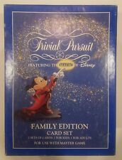 Trivial Pursuit The Magic of Disney Family Edition Vintage 1986 Game Complete!