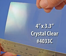 Printable 4 x 3.3 inch Glossy Clear Shipping Sticker Labels 50 Sheets 4033C