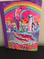 Lisa Frank Retro Composition Notebook Featuring Dolphins