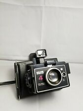 Polaroid Land Camera Square Shooter 4 Instant Film Timer Flash Wrist Strap VTG
