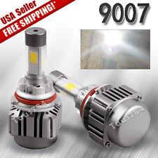 2 9007 HB5 LED Headlight Bulbs 120W 12000LM High Low Dual Beam Light HID 6000K