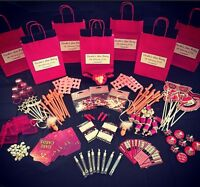 HEN PARTY GIFT BAG AND FILERS - PERSONALISED CREATE YOUR OWN CHOOSE 8 ITEMS