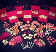 PERSONALISED HEN PARTY FAVOUR FILLED GIFT BAG -CREATE YOUR OWN CHOOSE 8 ITEMS