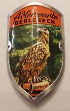 Adlerwarte BerlebeckWalking Stick Stocknagel, Hiking Medallion, Shield, New