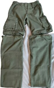 BSA Uniform Switchback Pants sz Youth 14 / Boy Scouts cotton pants