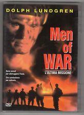 dvd MEN OF WAR L'ultima missione DOLPH LUNDGREN