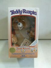 Teddy Ruxpin with Box