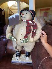 Decorative Snowman by Esc Trading Company
