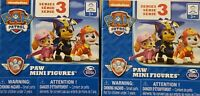 Lot of 2 Nickelodeon Paw Patrol Series 3 Mini Figures Blind Box mystery  NEW
