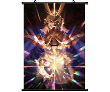 "Hot Anime Boku no Hero Academia All·Might Decor Poster Wall Scroll 8""x12"" P124"