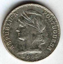 Portugal 1 Escudo 1915 plata @ SIN CIRCULAR @