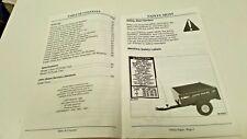 1995 JOHN DEERE UTILITY CARTS Operators Manual