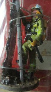 Del Prado-Figurine collector-Pompier  intervention-Australie- 2003-sous blister