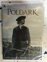 POLDARK SEGUNDA 2ª TEMPORADA 2 COMPLETA NUEVA AIDAN TURNER 3 x DVD 3T