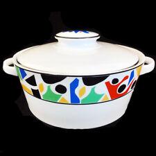 SPLASH Block Spal Covered Vegetable Bowl NEW NEVER USED Porcelain made Portugal
