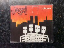 JOSKI Chorus CD 3 Track B/w I'm The Enemy And Close (csk016) UK Casket