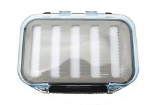 Plastic Waterproof Fly Fishing Box Super ABS Double Side Clear Slit Foam Tackle