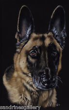 "11""x14"" PET PORTRAIT COMMISSION custom painting Sandrine Curtiss Original Art"
