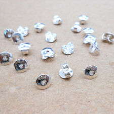 20PCS DIY 925 Sterling Silver Butterfly BACK STOPPERS Earrings Jewelry Finding