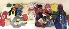 Vintage Concrete/Cement Duck/Goose Garden Statue 35 Piece Clothing Lot