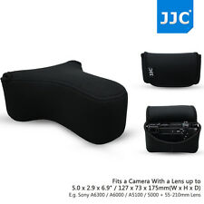 JJC Light Camera Pouch Case Bag for Sony A6300 A6000 A5100 A5000+55-210mm Lens
