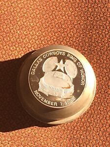 RARE DALLAS COWBOYS RING OF HONOR 1993 COIN TOKEN STAMPING DIE LIBERTY MINT
