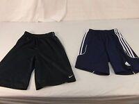 Children Youth Nike Blue White Shorts & Adidas Blue White Shorts Athletic 31053