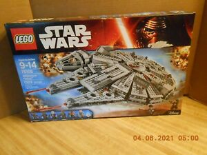 LEGO Star Wars Millennium Falcon 75105 New Sealed Damaged Box See Pictures