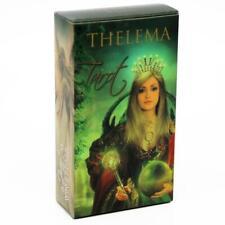 Thelema Tarot: A 78-card deck(English) - Rider-Waite-based Tarot Deck