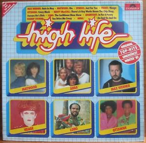 LP - HIGH LIFE = ABBA / CHILLY / ARABESQE / SOFT CELL / JEAN - MICHEL JARRE 1981