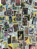 110pc Tarot Card Spirit Stickers Notebook Laptop Decal Metaphysical Art Pack Set