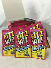 Fizz Wizz Cherry flavour Popping Candy Cherry FULL box 50 packets fun sweets