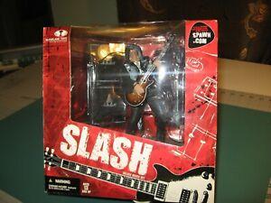 Slash Guns'n'Roses Deluxe Boxed Figure McFarlane Spawn.Com - 2005 RARE