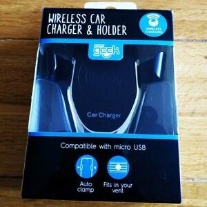Power Geek wireless car charger & holder