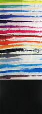 Sciarpa tubolare scaldacollo multifunzione doppio tessuto pile multicolor