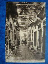 TUNIS  :  Le Souk-el-Blagdjia  ( des Babouches.)
