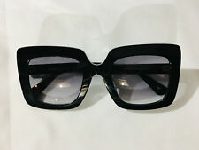 Authentic New Gucci GG0328S Sunglasses Black Frames Gray Lens Shade